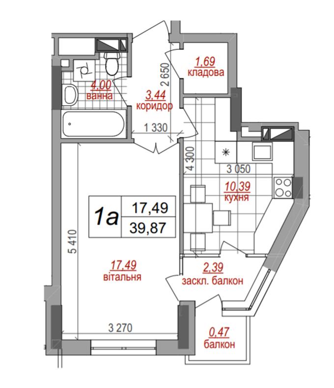 Квартиры до миллиона ЖК Вест Хаус планировка