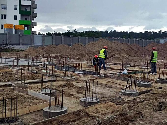 ЖК А 12 в Броварах на Симоненка ход строительства