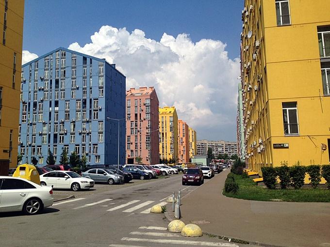 ЖК Комфорт Таун фасады