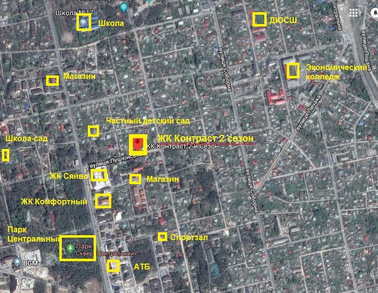 ЖК Контраст второй сезон в Ирпене инфраструктура