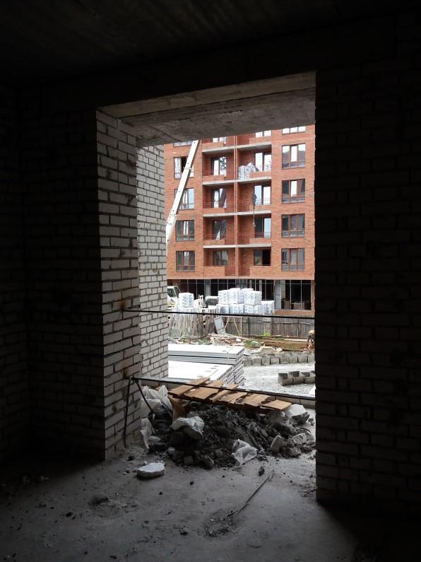 ЖК Контраст второй сезон в Ирпене вид из квартир