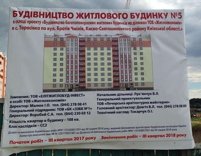 ЖК Квартал Тарасовский паспорт