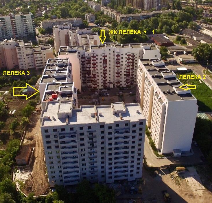 ЖК Лелека 3 в Борисполе генплан