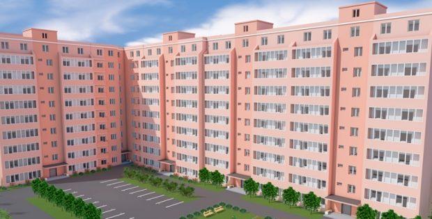 ЖК Лелека 3 в Борисполе визуализация