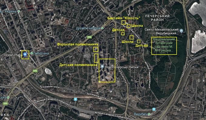 ЖК Новопечерские Липки инфраструктура