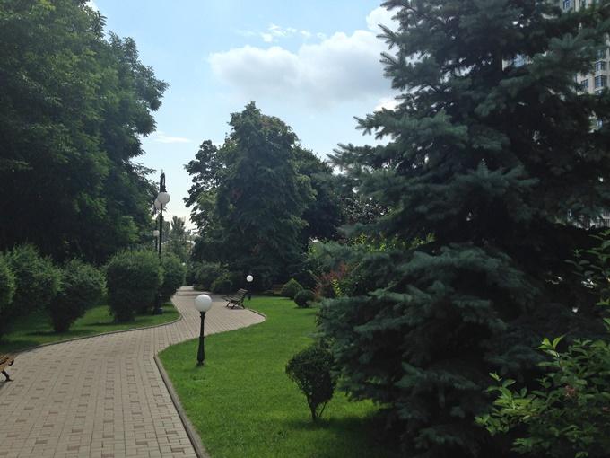 ЖК Новопечерские Липки места отдыха