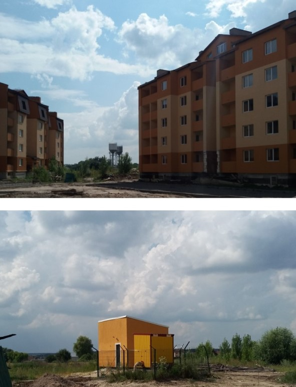 ЖК Сімейне містечко в Шевченково водонапорные башни