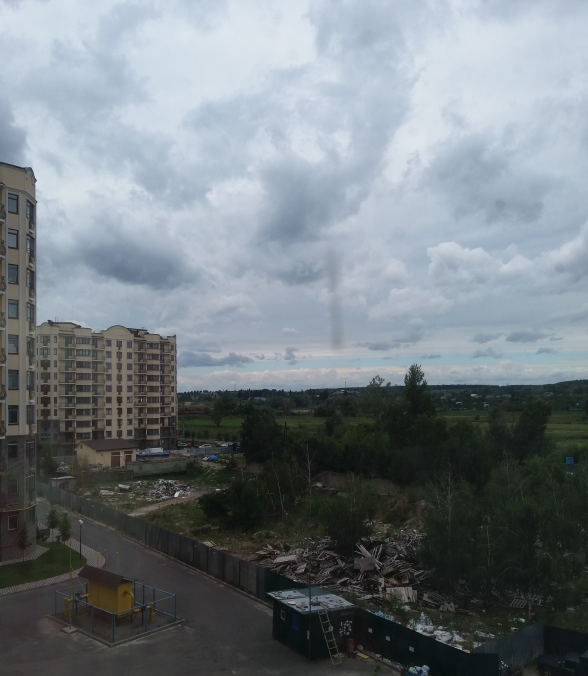 ЖК Синергия 2+ вид из окна