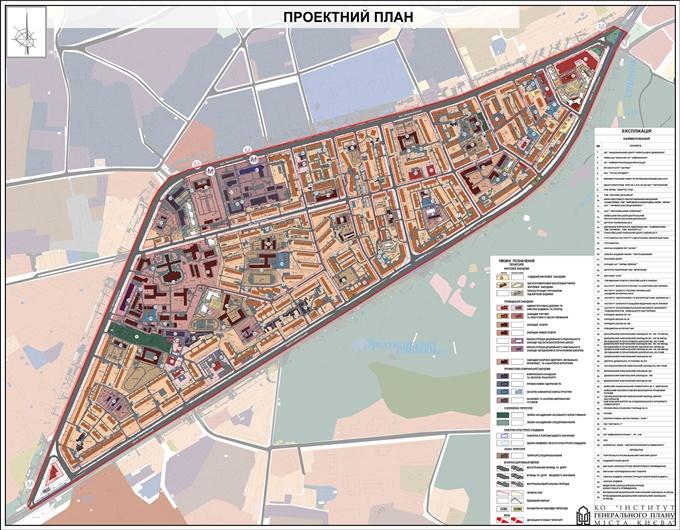 ДПТ микрорайон Голосеево проектный план