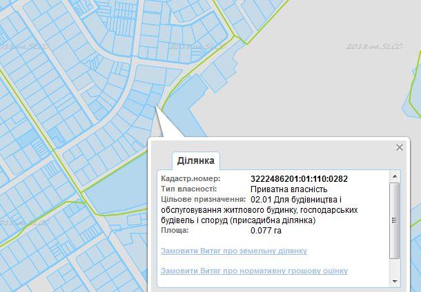 ЖК Оксамытовый в Софиевской Борщаговке кадастровая карта