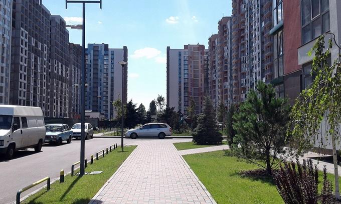 ЖК Парковый квартал Мисто Квитив двор