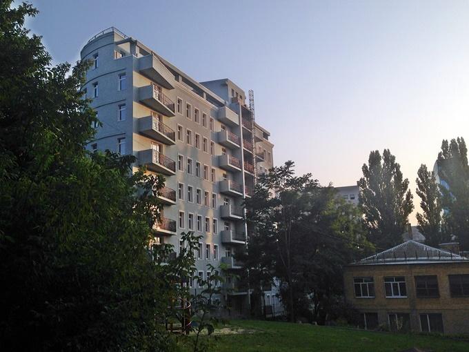 ЖК Патриарх Холл фасадные работы