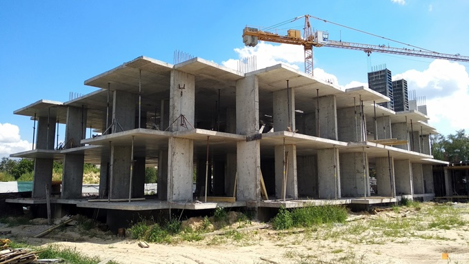 ЖК Звездная башня в Вышгороде ход строительства