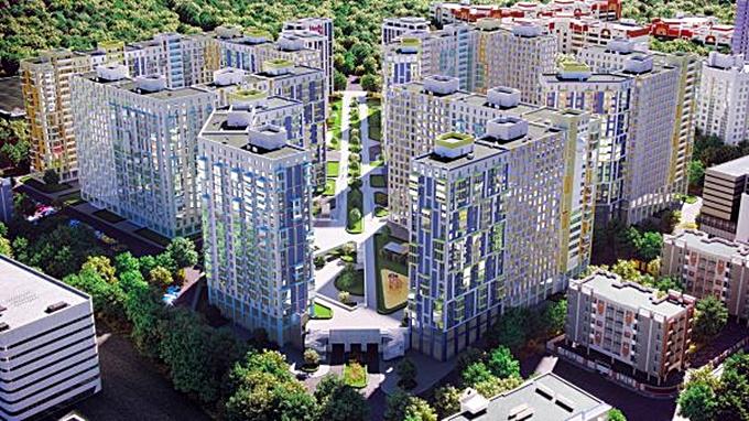 ЖК Скай Авеню от Укрбуда визуализация