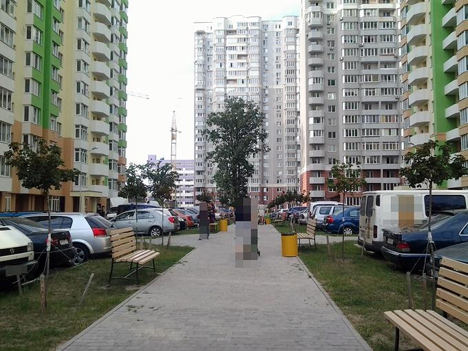 ЖК Атлант 2 в Коцюбинском двор