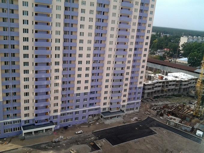 ЖК Атлант 2 в Коцюбинском ход строительства третьего дома