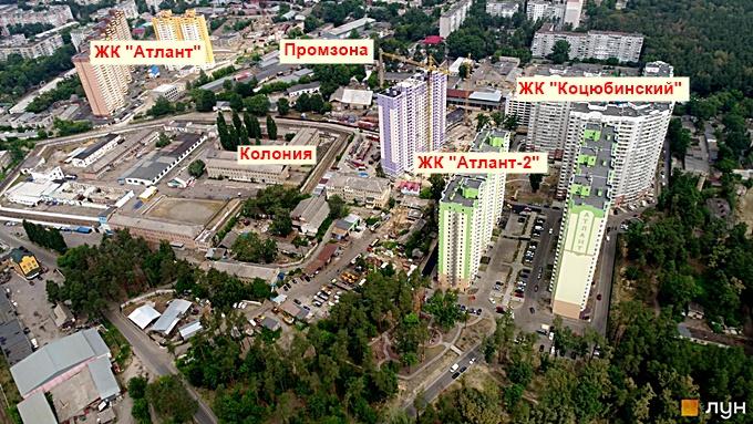 ЖК Атлант 2 в Коцюбинском новостройки