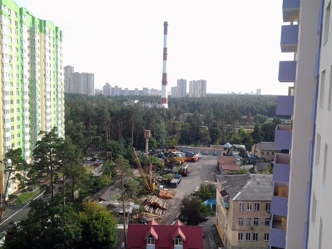 ЖК Атлант 2 в Коцюбинском вид из окон