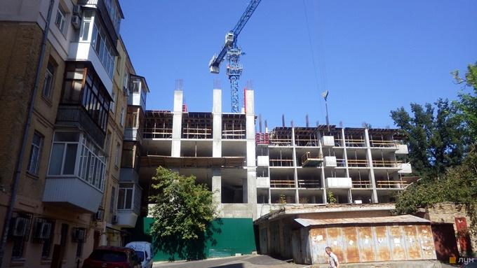 ЖК Дипломат ход строительства