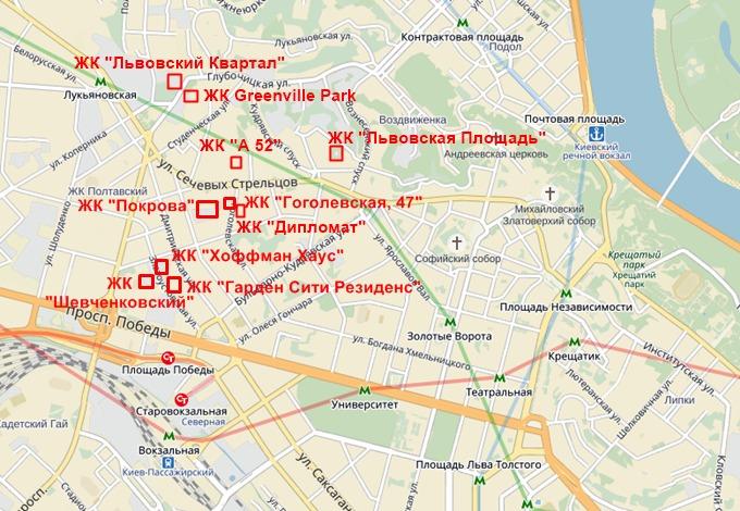 ЖК Дипломат на карте