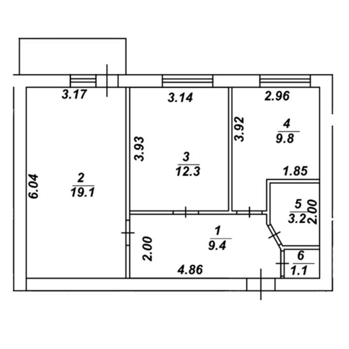 ЖК Финланд Ярд планировка двухкомнатной квартиры
