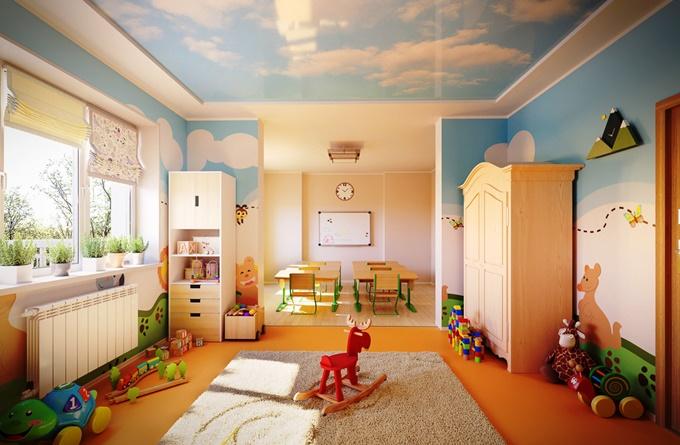 ЖК Ривер Хаус в Украинке детский сад