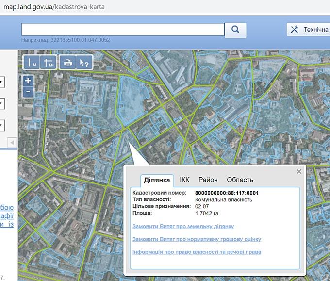 ЖК Старт данные кадастровой карты