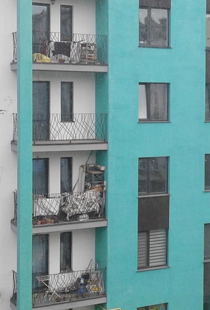 ЖК Европейка балконы
