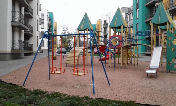 ЖК Европейка детская площадка