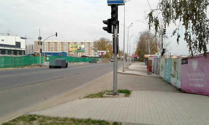 ЖК Европейка светофоры