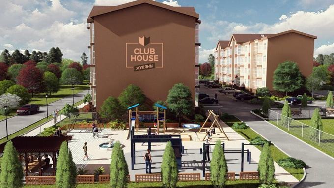 ЖК Club House территория