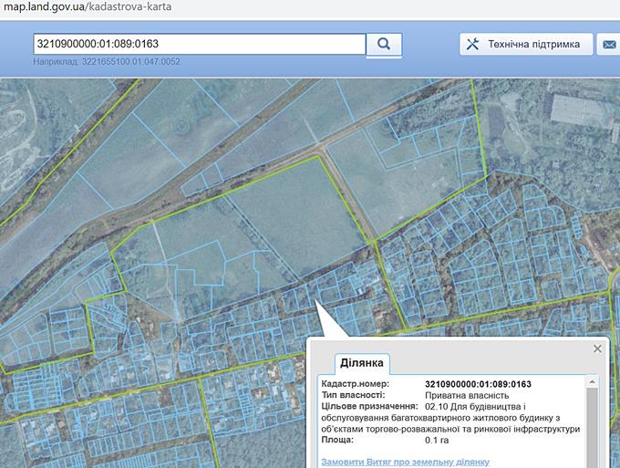 ЖК Новые Метры Park кадастровая карта