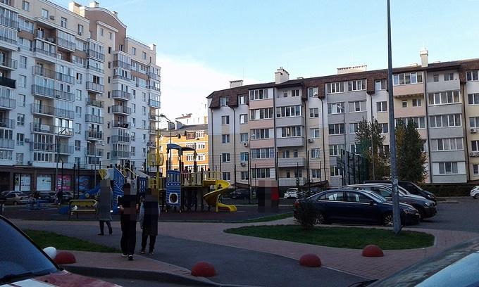 ЖК Пионерский квартал двор
