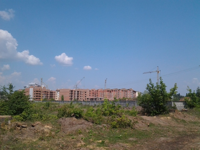 ЖК Пионерский квартал вид 2013 года