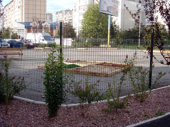 ЖК Софиевская Слободка детская площадка