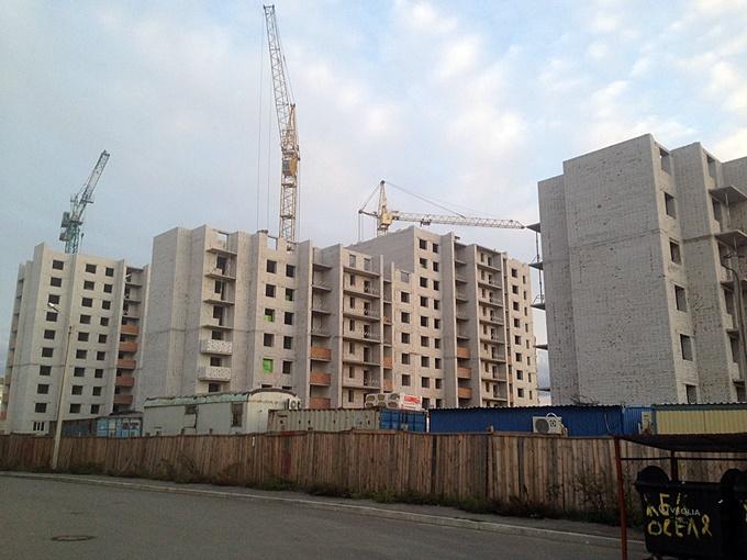 ЖК Софиевская Слободка ход строительства