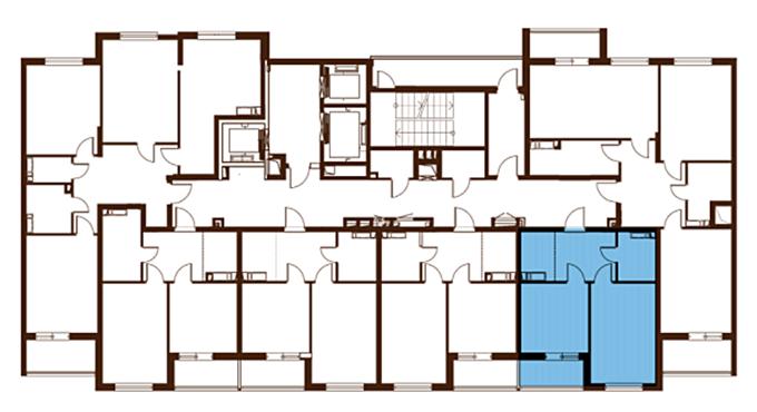 ЖК Лебединый поэтажный план дома 3