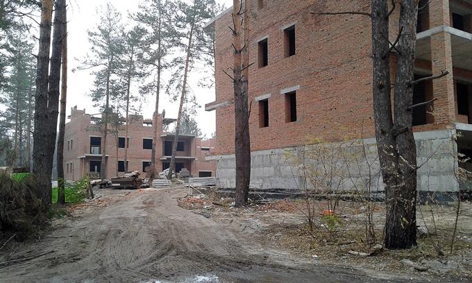 ЖК Десна Резиденс Альпийский городок в Зазимье ход строительства
