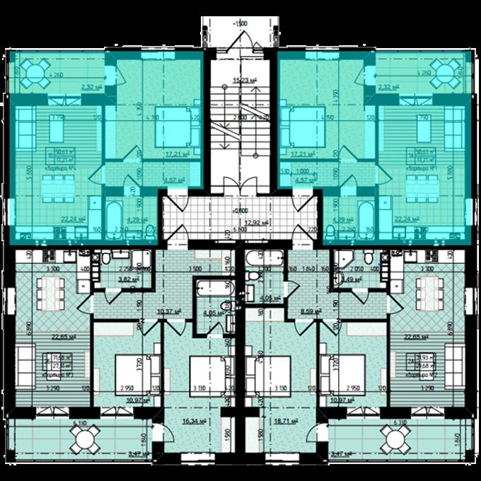 ЖК Десна Резиденс Альпийский городок в Зазимье поэтажный план дома Тироль