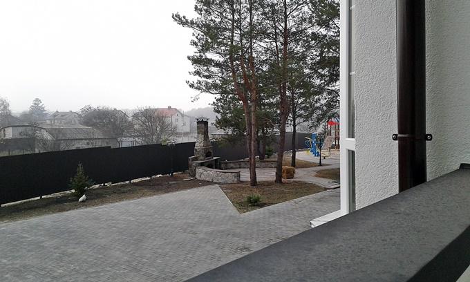ЖК Десна Резиденс Альпийский городок в Зазимье двор