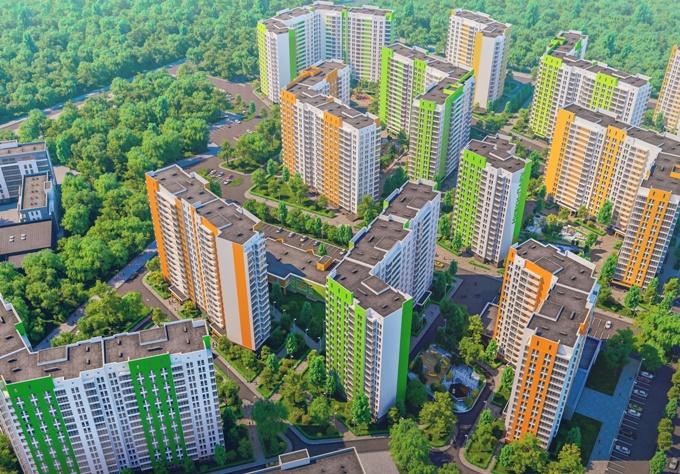 Самый загрязненный микрорайон Проспект Победы ЖК Нивки Парк