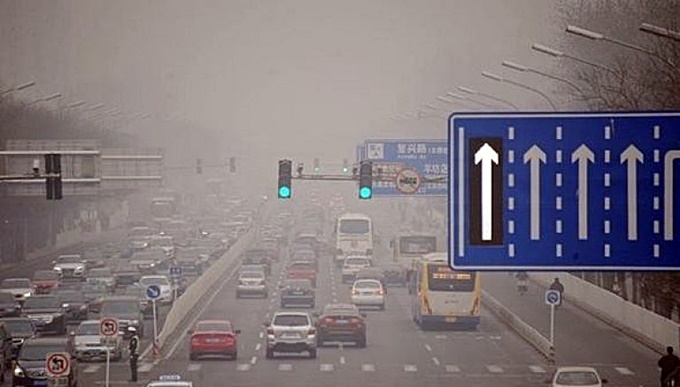 Самые загрязненные микрорайоны Киева воздух