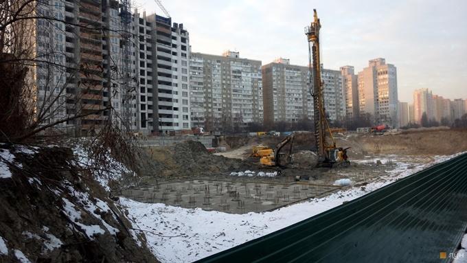ЖК Киевскай ход строительства ноябрь