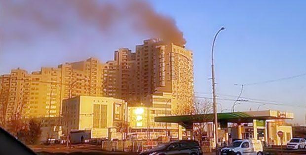 Пожар в ЖК «Парк Стоун
