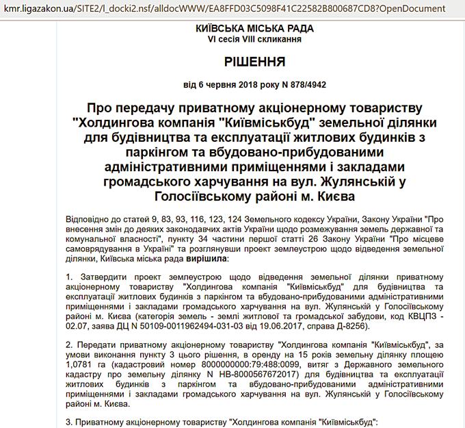 ЖК Абрикосовый документы
