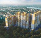 ЖК Привітний квартал Велкам Хоум в Бортничах визуализация