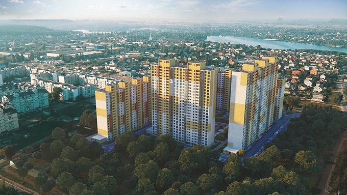 ЖК «Привітний квартал» в Бортничах (короткий обзор)