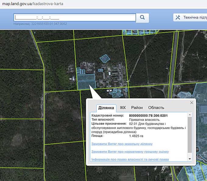 ЖК Форест парк от Зим Кепитал Групп кадастровая карта