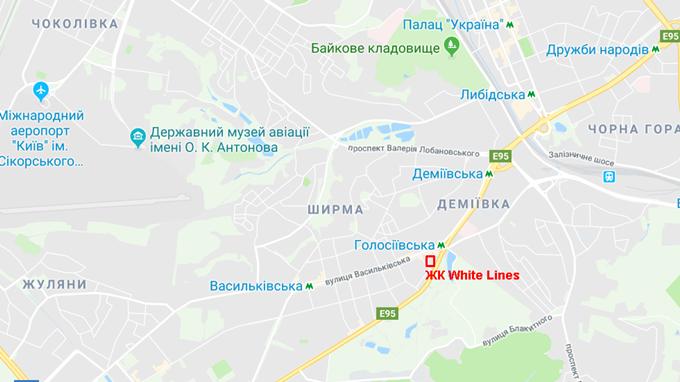 White lines карта