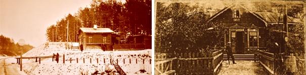 ДПТ Вишневого первые дома города